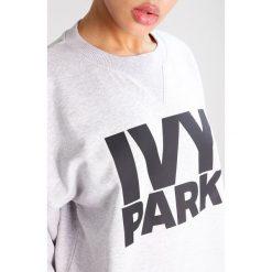 Bluzy rozpinane damskie: Ivy Park LOGO Bluza light grey marl/black
