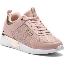 Sneakersy GUESS - FL5MRL FAL12 BLUSH. Czerwone sneakersy damskie marki Guess, z materiału. Za 529,00 zł.