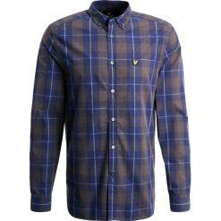 Koszule męskie na spinki: Lyle & Scott CHECK Koszula navy
