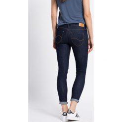 Lee - Jeansy. Niebieskie jeansy damskie Lee. W wyprzedaży za 179,90 zł.