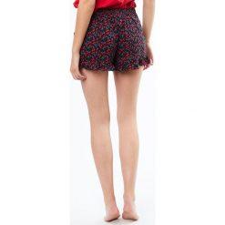 Etam - Szorty piżamowe. Niebieskie piżamy damskie marki Etam, l, z bawełny. W wyprzedaży za 49,90 zł.