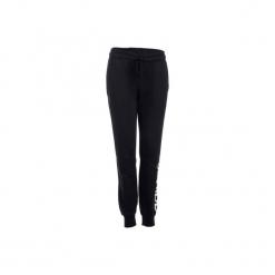 Spodnie slim Gym & Pilates Linear 500 damskie. Czarne bryczesy damskie Adidas, xl, z bawełny, na jogę i pilates. Za 169,99 zł.