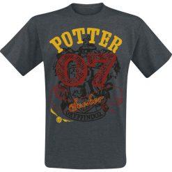 T-shirty męskie z nadrukiem: Harry Potter Gryffindor Seeker T-Shirt odcienie szarego