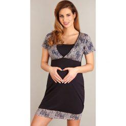 Nocna koszula dla ciężarnych i karmiących Lilli. Różowe bielizna ciążowa Astratex, z dzianiny, moda ciążowa. Za 125,99 zł.