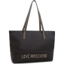 Torebka LOVE MOSCHINO - JC4063PP16LS000A  Nero. Czarne torebki klasyczne damskie marki Love Moschino, ze skóry ekologicznej. W wyprzedaży za 649,00 zł.