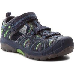 Sandały MERRELL - Hydro Hiker MC53375 Nvy/Grn. Niebieskie sandały męskie skórzane marki Merrell. W wyprzedaży za 159,00 zł.
