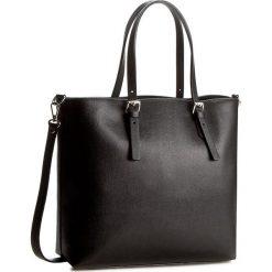 Torebka CREOLE - K10337  Czarny. Czarne torebki klasyczne damskie Creole, ze skóry. W wyprzedaży za 259,00 zł.