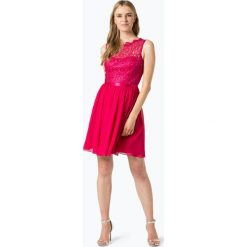 Laona - Elegancka sukienka damska, różowy. Czerwone sukienki balowe marki Laona, w koronkowe wzory, z koronki. Za 249,95 zł.