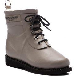 Kalosze ILSE JACOBSEN - RUB2 Atmosphere 149. Brązowe buty zimowe damskie marki Alma en Pena, z materiału, na obcasie. W wyprzedaży za 409,00 zł.