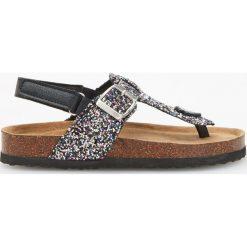 Sandały - japonki - Czarny. Czarne klapki dziewczęce marki Reserved. Za 59,99 zł.
