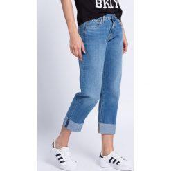 Pepe Jeans - Jeansy. Niebieskie proste jeansy damskie Pepe Jeans. W wyprzedaży za 159,90 zł.