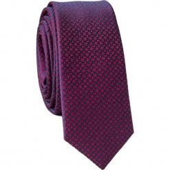 Krawat KWTS001690. Różowe krawaty męskie marki Reserved. Za 69,00 zł.