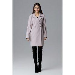 Długi płaszcz reglan m624. Brązowe płaszcze damskie Global, m, w paski, eleganckie. Za 299,00 zł.