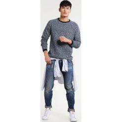 Swetry klasyczne męskie: Shine Original Sweter blue