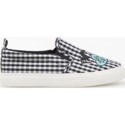 Buty sportowe chłopięce: Tenisówki typu slip on - Czarny