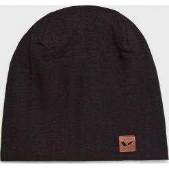 Viking - Czapka. Czarne czapki zimowe damskie marki Viking, na zimę, z bawełny. Za 49,90 zł.