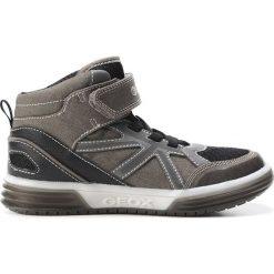 """Sneakersy """"Argonat"""" w kolorze szarym. Niebieskie trampki chłopięce marki geox kids, z gumy. W wyprzedaży za 165,95 zł."""