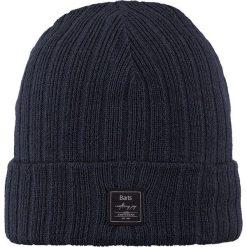 Barts - Czapka Parker. Niebieskie czapki zimowe męskie marki Barts, na zimę, z dzianiny. W wyprzedaży za 59,90 zł.