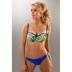 Bikini: Bikini w kolorze niebieskim ze wzorem
