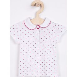 Blukids - Top dziecięcy 68-98 cm. Szare bluzki dziewczęce bawełniane Blukids, z krótkim rękawem. Za 39,90 zł.