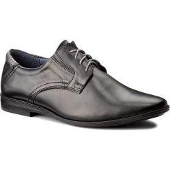 Półbuty SERGIO BARDI - Ascanio FW127262917PL 101. Czarne buty wizytowe męskie Sergio Bardi, z materiału. W wyprzedaży za 159,00 zł.