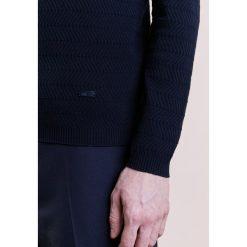 Swetry klasyczne męskie: Armani Collezioni Sweter dunkelblau