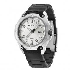 """Zegarek """"PL.93935AEU/04A"""" w kolorze czarno-srebrnym. Czarne, analogowe zegarki męskie NIXON & ESPRIT, srebrne. W wyprzedaży za 419,95 zł."""