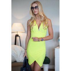 Sukienki: Zółta Sukienka