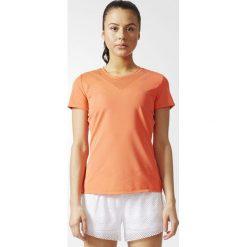 Adidas Koszulka damska Feminine Tee pomarańczowa r. XS (BR9840). Brązowe topy sportowe damskie Adidas, xs. Za 119,57 zł.