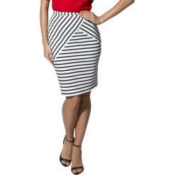 Spódniczki: Spódnica w kolorze czarno-białym