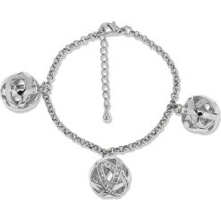 Bransoletki damskie na nogę: Bransoletka z kryształkami Swarovski