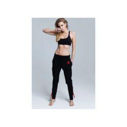 Spodnie dresowe damskie: SPODNIE ROSE STRING BLACK