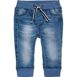 Chinosy chłopięce: Noppies PANTS CURVED LENOX BABY Spodnie materiałowe blue denim
