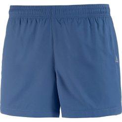 Szorty funkcyjne w kolorze niebieskim. Niebieskie bermudy damskie OCK, z materiału. W wyprzedaży za 65,95 zł.