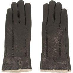 Rękawiczki Damskie WITTCHEN - 44-6-511-1-M Czarny. Czarne rękawiczki damskie Wittchen, z materiału. W wyprzedaży za 129,00 zł.