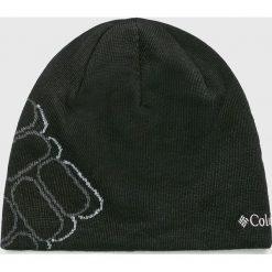 Columbia - Czapka. Czarne czapki zimowe męskie Columbia, z dzianiny. W wyprzedaży za 69,90 zł.