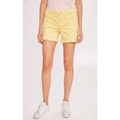 Armani Exchange - Szorty. Czarne szorty jeansowe damskie marki Armani Exchange, l, z kapturem. W wyprzedaży za 259,90 zł.