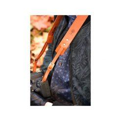 Skórzany pasek do aparatu fotograficznego. Czarne paski damskie Black tree, w paski, z materiału, klasyczne. Za 109,00 zł.