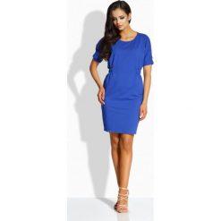 Sukienki: Klasyczna sukienka z gumkami chaber