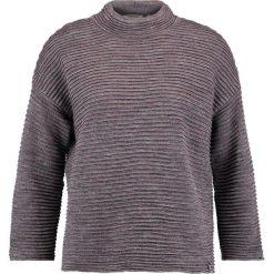 Swetry klasyczne damskie: Rich & Royal Sweter burgundy