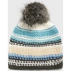 Viking - Czapka Dejna. Szare czapki zimowe damskie marki Viking, na zimę, z dzianiny. Za 59,90 zł.