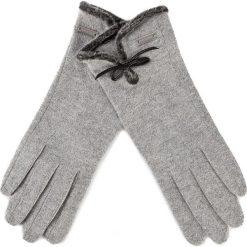 Rękawiczki damskie: Rękawiczki Damskie WITTCHEN – 47-6-104-S U Szary