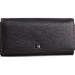 Duży Portfel Damski NOBO - NPUR-LG0130-C020 Czarny. Czarne portfele damskie Nobo, ze skóry. W wyprzedaży za 159,00 zł.