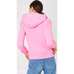 Bluzy rozpinane damskie: Sweet SKTBS Bluza z kapturem Sweet Pepsi Logo - Pink