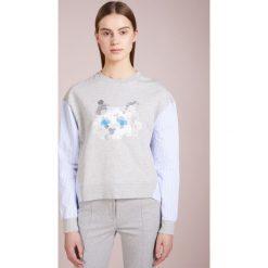 Bluzy damskie: KARL LAGERFELD MIX CHOUPETTE  Bluza grey melange