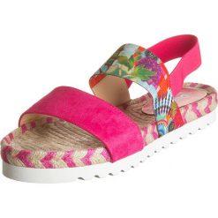"""Sandały damskie: Sandały """"Formentera 4"""" w kolorze różowym"""