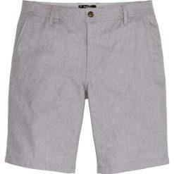 Spodenki i szorty męskie: Bermudy z wywiniętymi nogawkami Regular Fit bonprix szary