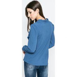 Vero Moda - Bluzka. Szare bluzki z odkrytymi ramionami Vero Moda, l, z elastanu, casualowe. W wyprzedaży za 79,90 zł.