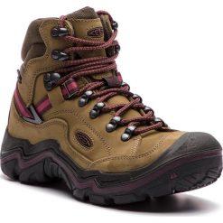 Trekkingi KEEN - Galleo Mid Wp 1020155 Dark Olive/Winetasting. Zielone buty trekkingowe damskie Keen. W wyprzedaży za 519,00 zł.