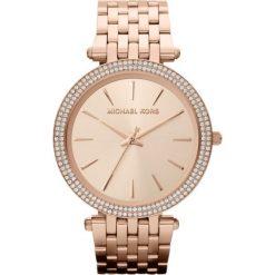 ZEGAREK MICHAEL KORS LADIES ROSE GOLD TONE MK3192. Czerwone zegarki damskie Michael Kors, ze stali. Za 1299,00 zł.